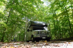Park the RV at Cane Creek Campgrounds and launch from the Kentucky Lake Boat Slips for Rent