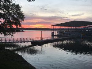 Pebble Isle Sunset as beautiful as our RV Park Kentucky Lake