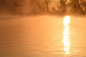 Morning sunrise at Cane Creek Kentucky Lake Marina