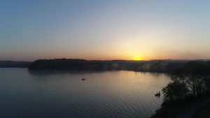 Sunrise in Stewart TN at Cane Creek RV Campgrounds Near Land Between the Lakes