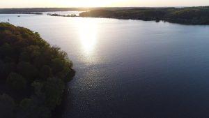 Sunrise over Kentucky Lake Boat Slips for Rent