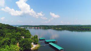 Cane Creek Marina and Campground - Lake Scenery