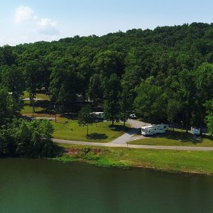 Cane Creek Marina - Campsites