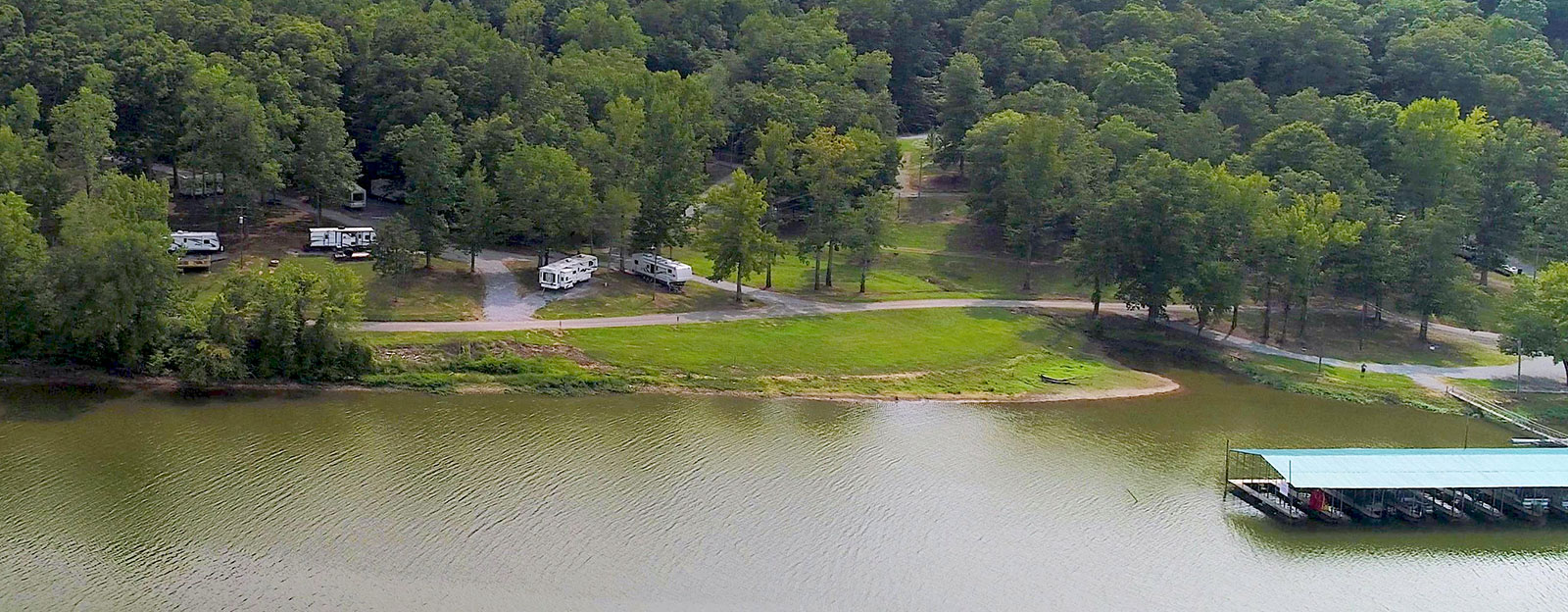 Cane Creek Marina with RV Campgrounds Near Land Between the Lakes